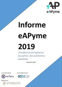 thumbnail of Informe eAPyme 2019 (2)
