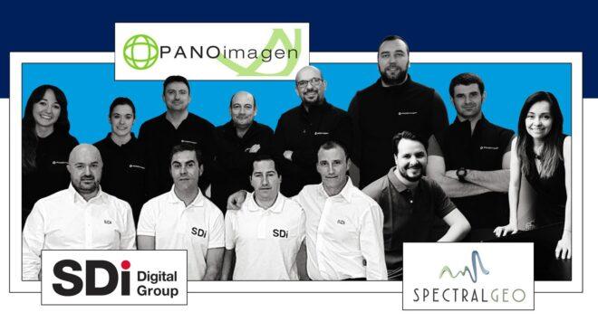 Empresas AERTIC Smart Agrifood Panoimagen, Sdi, SpectralGeo