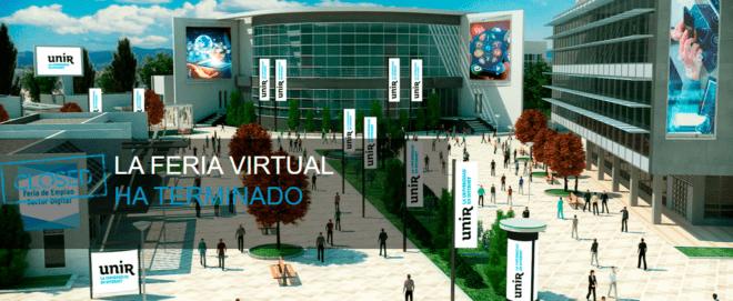 Imagen de la Feria de empleo digital UNIR
